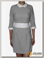 Платье трикотажное HTH