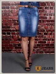 Юбка женская джинсовая Dersairle 1008
