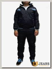 Костюм спорт. муж Billcee 0928-2, темно-синий с голубым