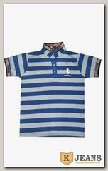 "Рубашка поло муж. HP A10 цвет ""серый"""