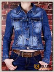 Куртка женская джинсовая Haodi HD99-239S