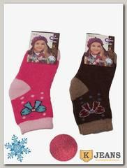 Носки шерстяные для девочки Софья А-31