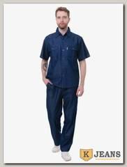 Костюм мужской джинсовый Feibo B26-1