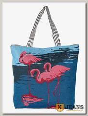 Сумка женская тканевая Фламинго СЖТ-3