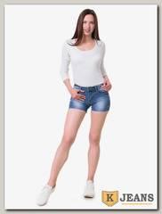 Шорты женские джинсовые Langluka 1598DK