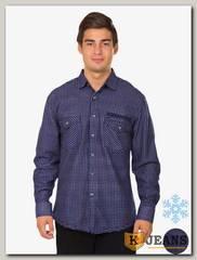 Рубашка мужская утепленная Sainge 5905-7