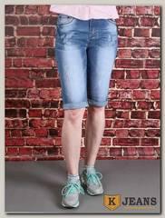 Бриджи женские джинсовые Rich Berg TD9013