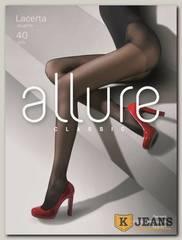 Колготки женские Allure Classic Lacerta 40 den glasse