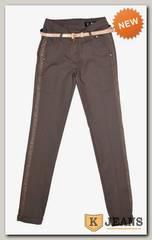 Брюки женские Wafler 6721 светло-коричневый