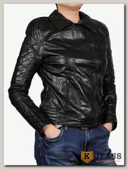 Куртка женская кожаная ZG D-1613