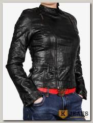 Куртка женская кожаная ZG D-321