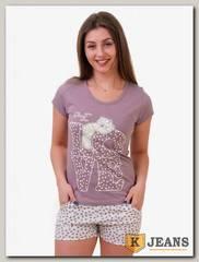 Пижама женская двойка 502-2