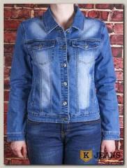 Куртка женская джинсовая Lanmasku 162