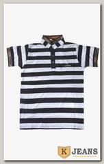 "Рубашка поло муж. HP A10 цвет ""белый"""