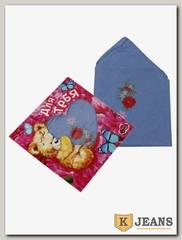 Платок носовой подарочный ПЖП-100-2