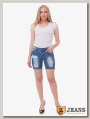 Шорты женские джинсовые Langluka LK0143ADK
