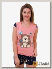 Пижама женская двойка 502-3