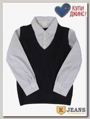 Рубашка-обманка для мальчика HLYB A109-2