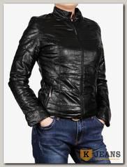 Куртка женская кожаная ZG D-218A