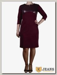 Платье трикотажное Ромашка П212-2