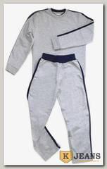 "Спортивный костюм мал. Bim Bam 2-й воротник ""серый-меланж"""