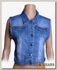 Жилет джинсовый жен. Vfnver F8067
