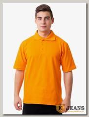 """Рубашка поло мужская Мос Ян Текс цвет """"Оранжевый """""""
