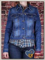 Куртка женская джинсовая Haodi HD99-279S