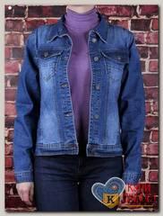Куртка женская джинсовая Haodi HD99-283BS