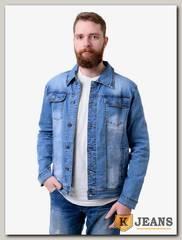Куртка мужская джинсовая Langluka NZ6137S