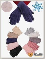 Перчатки женские махровые Катюша 7781