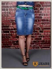 Юбка женская джинсовая Dersairle 1013