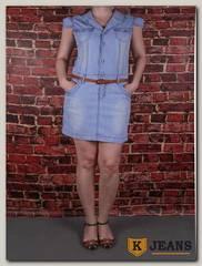 Платье женское джинсовое Langluka LK806BLQ