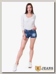 Шорты женские джинсовые Langluka LK0140DK