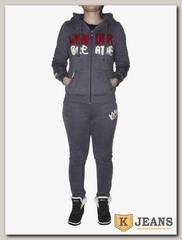 Костюм спорт. жен. утепленный Xinlingminjie 3551-1