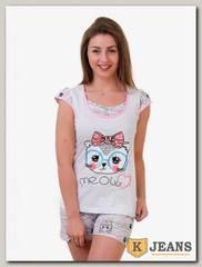 Пижама женская двойка 845-1