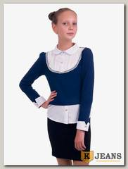 Рубашка-обманка для девочки Kids 72-3