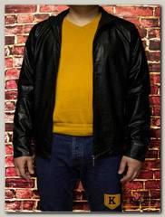 Куртка кожаная мужская ZG F035