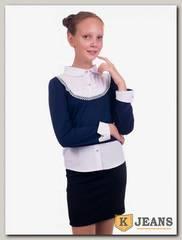Рубашка-обманка для девочки Kids 72-2