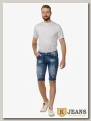 Бриджи джинсовые мужские AZXK A-6810