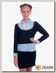 Рубашка-обманка для девочки Kids 72-5