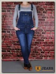 Комбинезон женский джинсовый Miss Bon MB-426