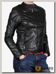 Куртка женская кожаная ZG D-1607