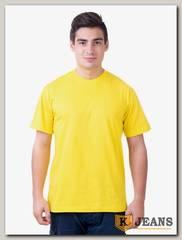 Футболка мужская Мос Ян Текс лимон