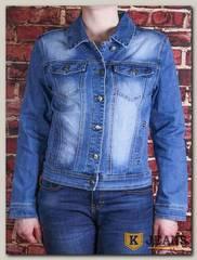 Куртка женская джинсовая Lanmasku 161