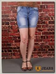 Бриджи женские джинсовые Langluka X1671AK