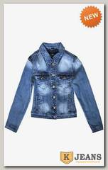 Пиджак джинсовый женский Haodi HD99-135