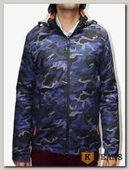 """Куртка муж. """"М3"""" 5839-2, цвет синий."""