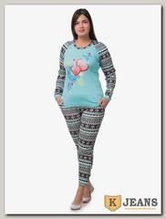 Пижама женская Diamond 1111-2