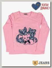 Лонгслив для девочки Cool Bear 297-2